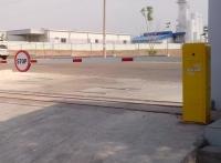 Lắp đặt barrier tự động trong bãi xe thông minh