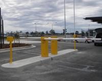Barrier tự động bãi xe thông minh